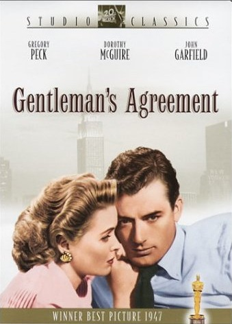 anti semitism in gentlemans agreement film Product description a journalist assigned to write a series of article on anti-semitism searching for an angle, he finally decides to pose as a jew-and soon discovers what is to be a victim of religious intolerance.